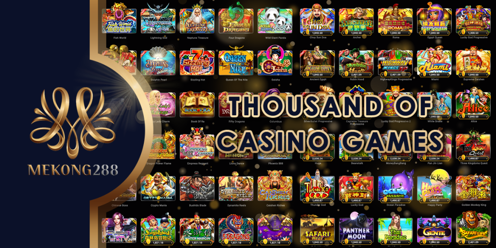 mekong288 casino games
