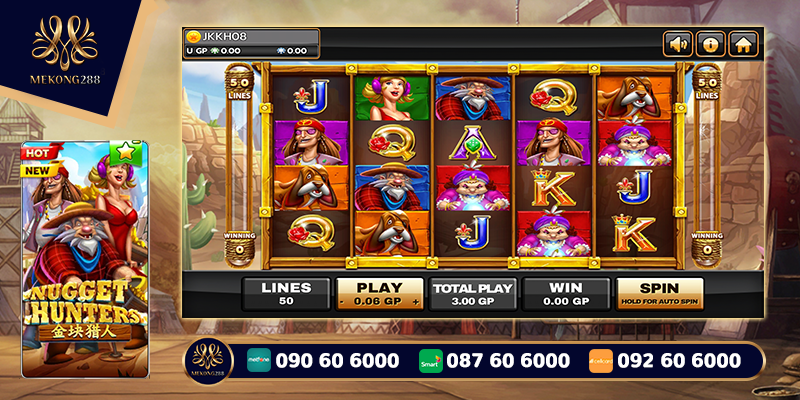 Nugget Hunter Slots Game