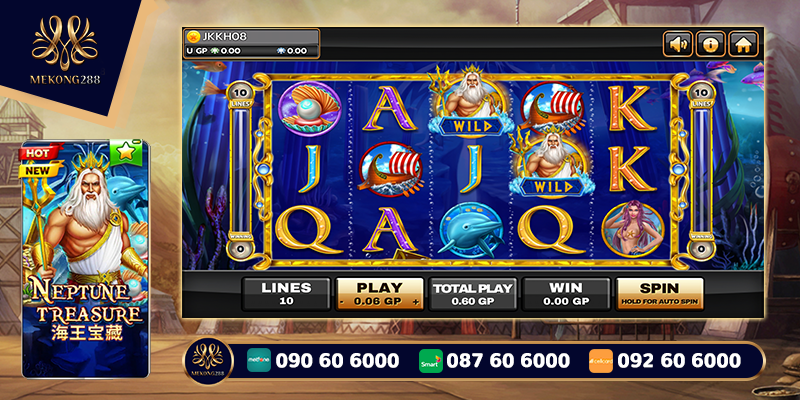Neptune Treasure Slots Game